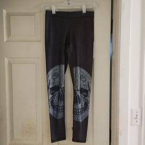 Terez skull leggings x small